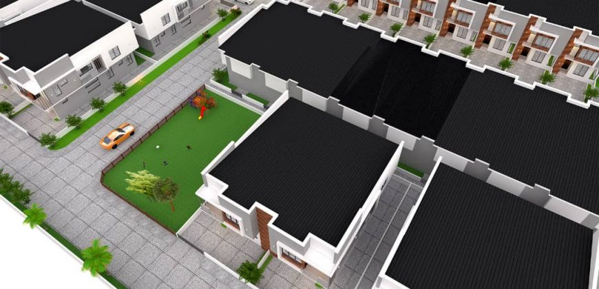 5 Detached House with B/Q at Chevron Alternative Roadin a gated Estate with 24/7 security.