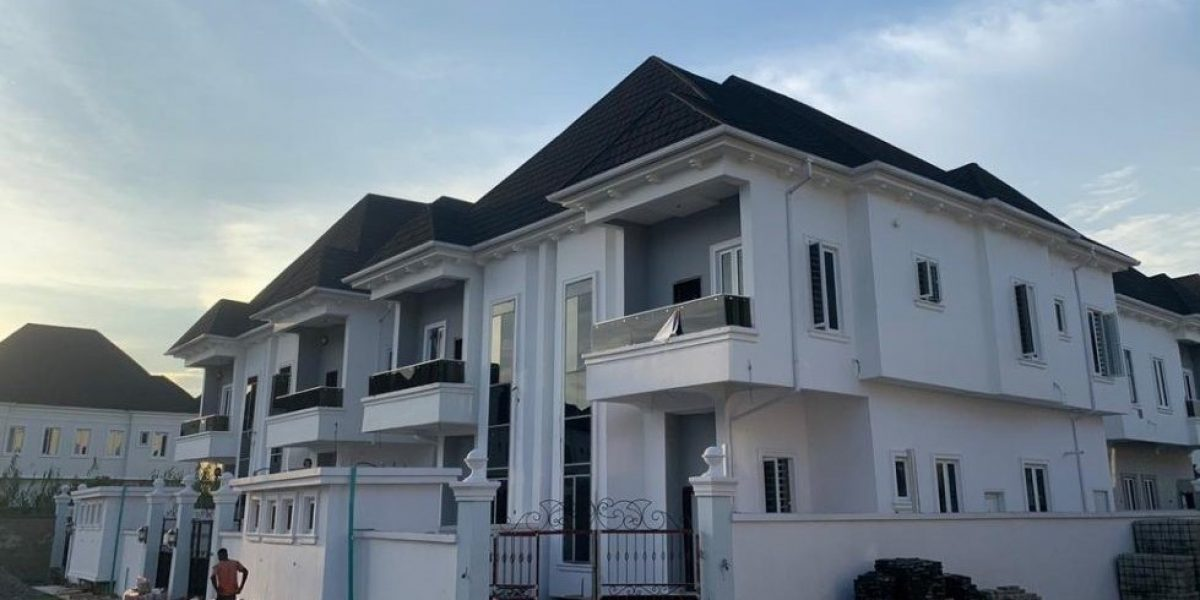 4 Bedroom Semi Detached Duplex at Tulip Heaven Estate by Chevron Alternative Road